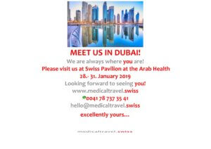 Dubai Arab Health 2019